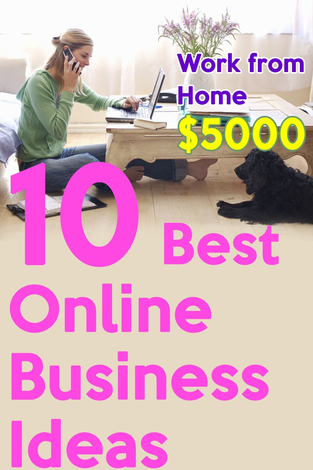 10 Best Online Business Ideas to Work from Home