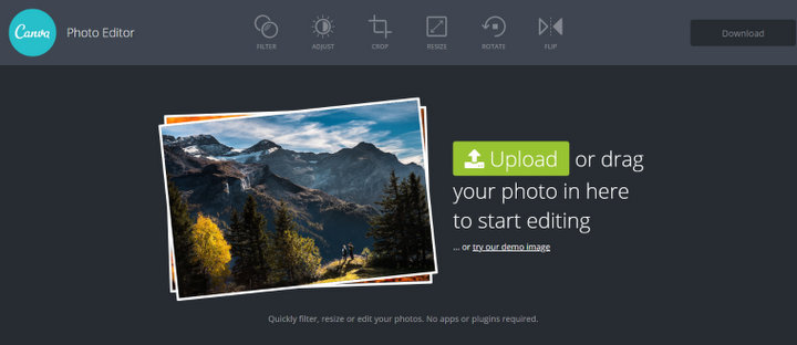 Canva Free Online Photo Editor