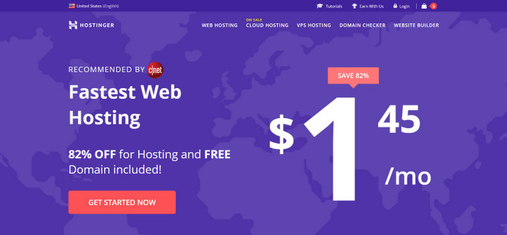 Hostinger cheap web hosting service
