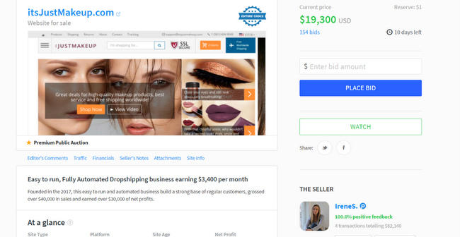 Flipping Online Business