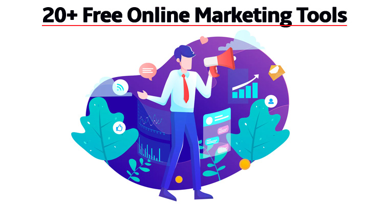 20+ Free Online Marketing Tools for Small Business