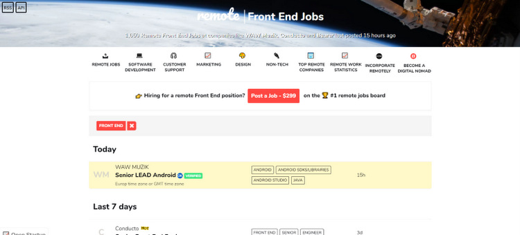 10 Websites to Find Freelance Remote Front End Developer Jobs