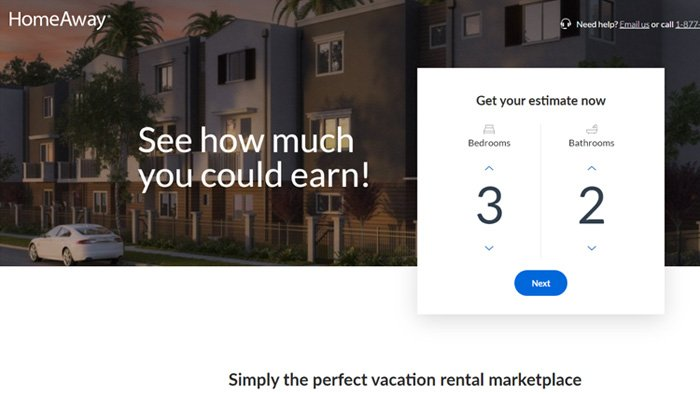 Real estate investing income HomeAway