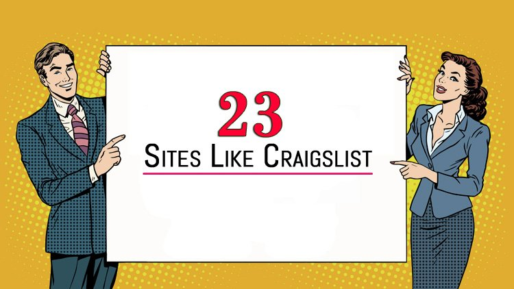 23 Sites like craigslist to buy or sell your stuff online